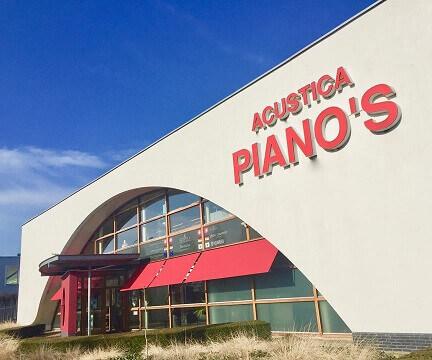 piano huren bij Acustica piano's en vleugels in Breda