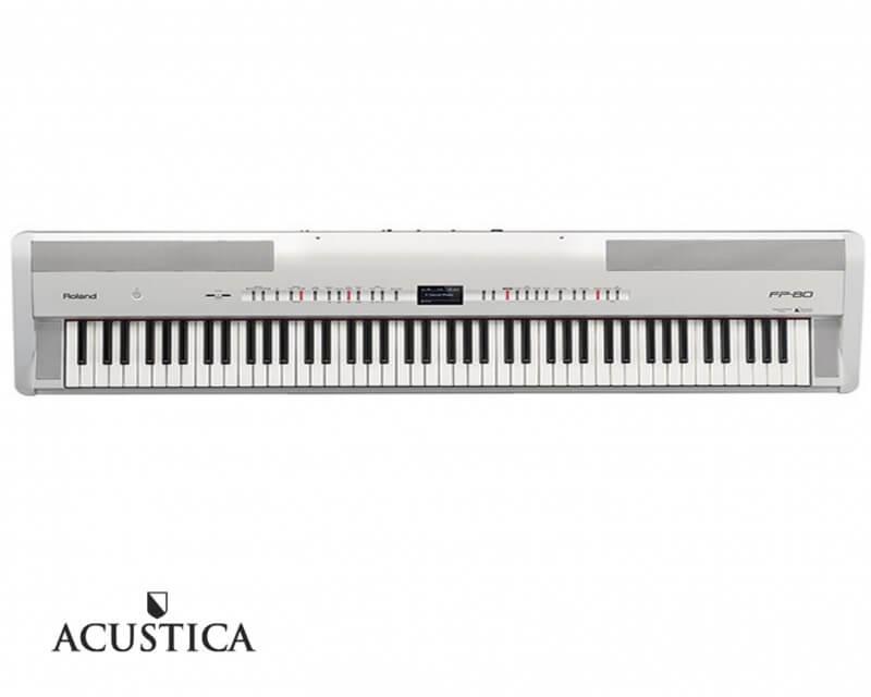 Verwonderlijk Roland FP-80 WH witte digitale piano | stage piano | Acustica DP-48