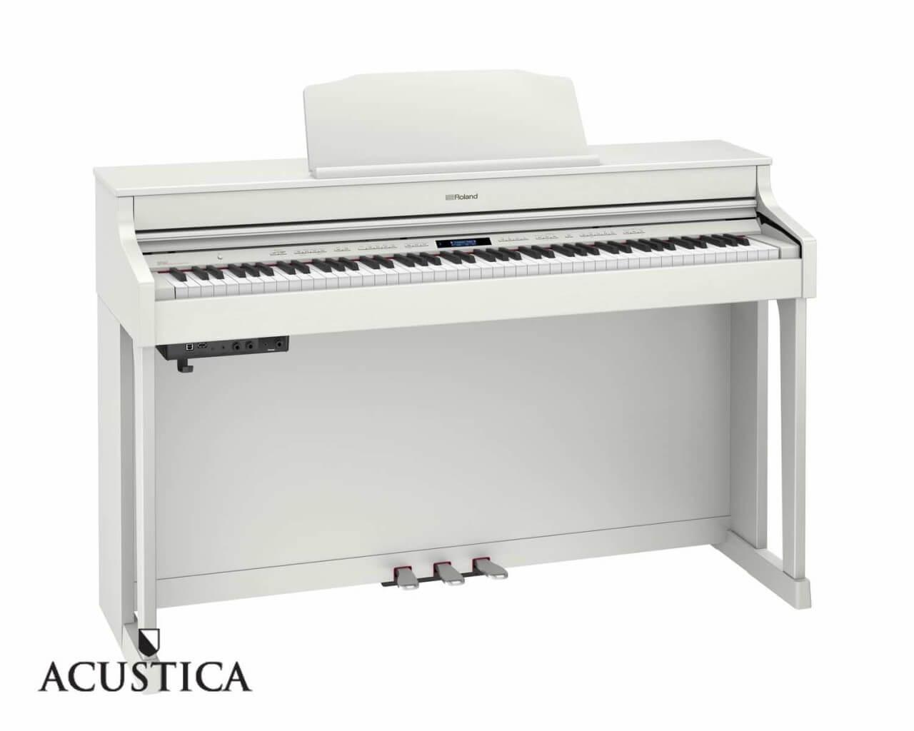 Roland HP-704 witte digitale piano