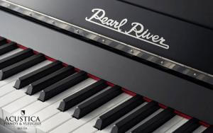 Pearl River Piano Detail