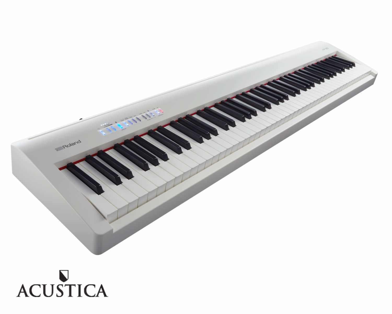 Verwonderlijk Roland FP-30-WH witte digitale piano |Acustica Breda RR-09